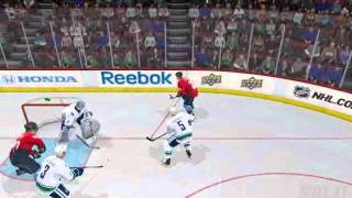 NHL 11 Gameplay on Superstar Difficulty