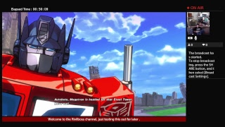 Rivalboss's Livestream Playing Some Tranformers