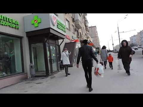 Москва Проспект Мира у метро Алексеевская 7 марта 2019