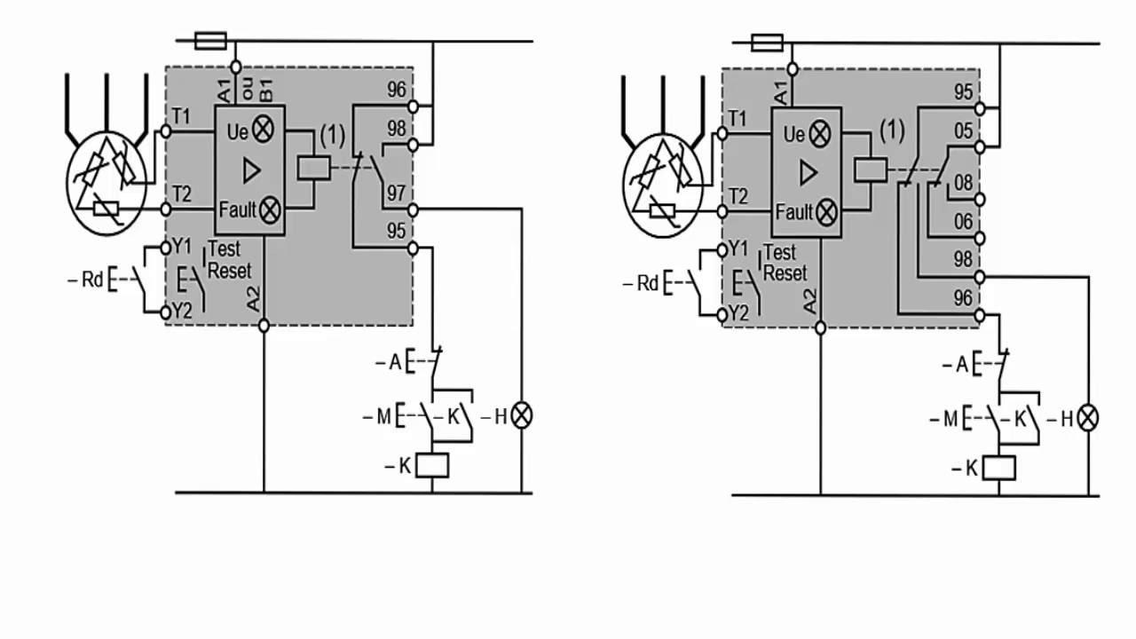 78366aec214 PTC  PT100 proteção térmica de motores trifásicos em comandos Elétricos