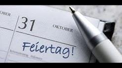 DEUTSCHLAND: Die meisten Feiertage gibt es in Bayern – und in Lübeck