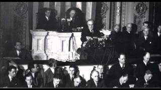 "Franklin D Roosevelt - Dec. 8, 1941 ""Day of Imfamy"" Speech (Full Speech)"
