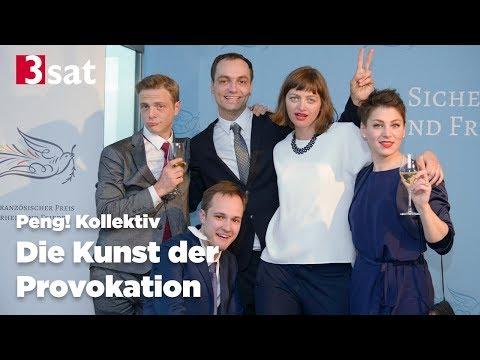 Die Kunst der Provokation - 3sat Dokumentation über Peng! Kollektiv