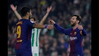 Barcelona Vs Real Betis  5/0 En Direct