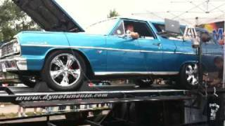 whitey car craft 2009 dyno with his 1964 2 door chevelle wagon 440+ horsepower to wheels