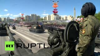 В Минске прошел парад Победы