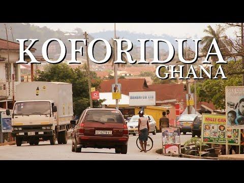 Life in Koforidua Ghana West Africa