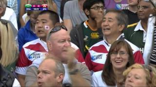 Soul-stirring Rugby: Republic of South Africa vs Japan Rugby World Cup 2015 19 09