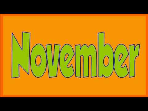 Thumbnail: Months Of The Year Song