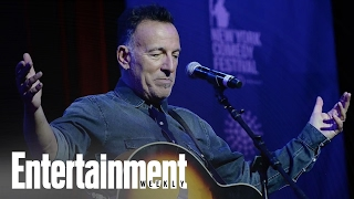 Bruce Springsteen Questions Donald Trump's Competence | News Flash | Entertainment Weekly