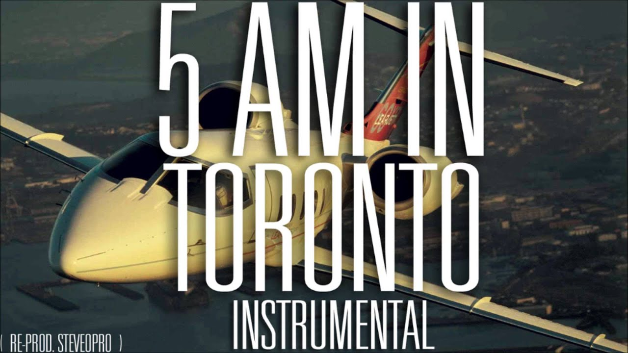 Drake 5 Am In Toronto Official Instrumental