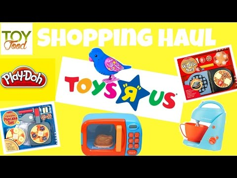 """TOYS """"R"""" US Shopping!!! Toy Food: Just Like Home, Melissa & Doug, Play Doh, Little Live Pets, & More"""