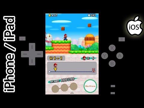 New Super Mario Bros. | Happy Chick Emulator | iPhone / iPad / iOS [1080p] | Nintendo DS