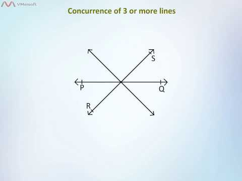 Intersecting & Concurrent Lines