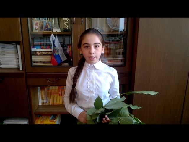 Карина Мовсесян читает произведение «Костер» (Бунин Иван Алексеевич)