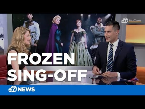 We had a sing-off with 'Frozen's' new Elsa and it was everything