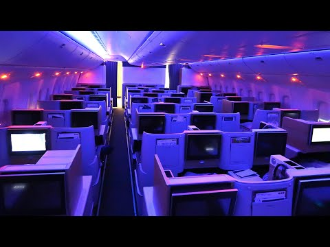 SWISS Boeing 777 Business Class from Zürich to Singapore