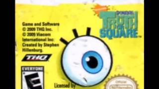 Spongebob Squarepants: Truth Or Square DS - Sound Effects (HD)