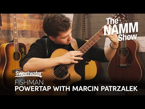 Fishman PowerTap Pickup Performance and Interview with Marcin Patrzalek at Winter NAMM 2020