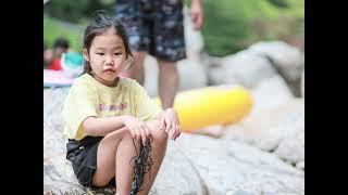 지리산계곡에서 신나는 물놀이 캠핑~^^