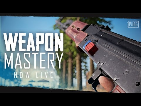 PUBG - Weapon Mastery - Now Live