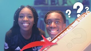 WHAT'S IN THE BOX?? WITH MY SISTER!!