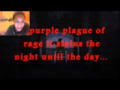 """Five Nights At Freddy's 4 Song - """"Painted Faces"""" REACTION   Bloody Lyrics"""