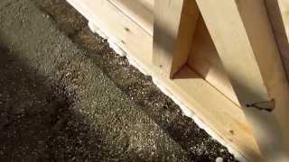 Закрытый навес для авто / Деревянный навеc / Сборка каркаса(Строительство деревянного, закрытого навеса - гаража для автомобиля.http://masterdachi.ru/ Этап строительства - сборк..., 2015-09-26T17:34:52.000Z)