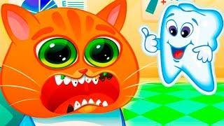 Мультик про Котика Bubbu 14 Играем в котенка Бубу Мультфильмы для детей - виртуальный питомец