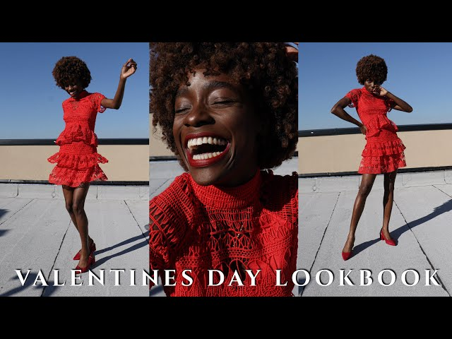 VALENTINES DAY LOOKBOOK | VALENTINES DAY OUTFIT IDEAS