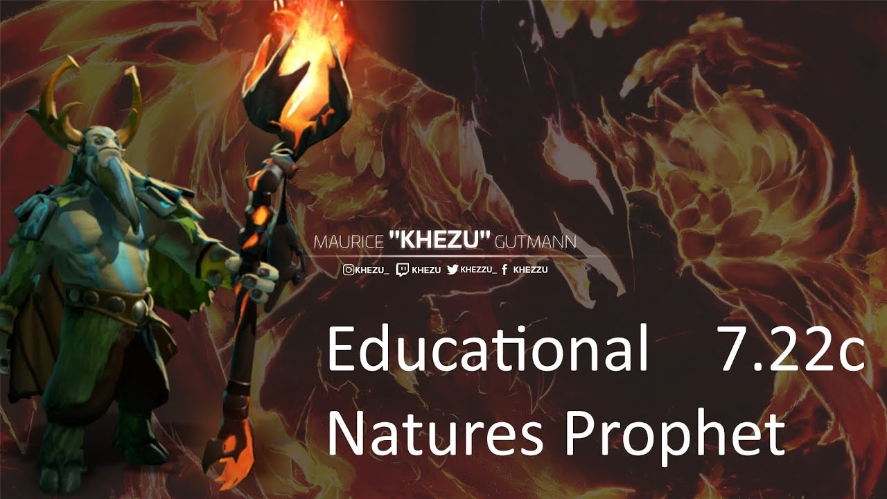 How to play Natures Prophet like an actual good player. Educational [Dota2]