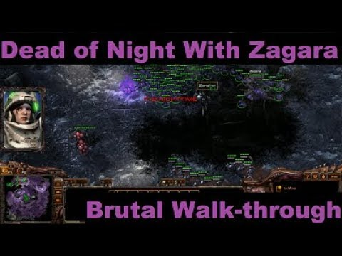 Starcraft 2 How To Beat Dead Of Night Using Zagara On Brutal Co Op Mission Youtube Zagara build used in hgc and other heroes of the storm esports events by the top pro gamers in the united states, europe and asia. starcraft 2 how to beat dead of night using zagara on brutal co op mission