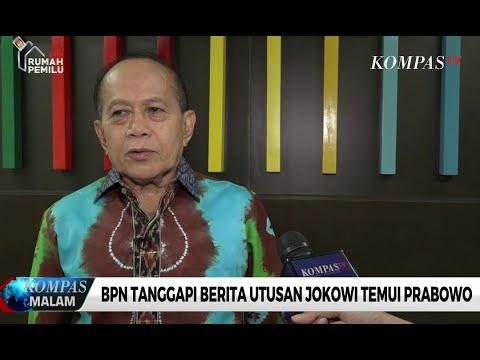 BPN Tanggapi Berita Utusan Jokowi Temui Prabowo