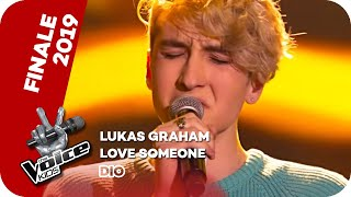 Lukas Graham Love Someone Finale The Voice Kids 2019 SAT 1