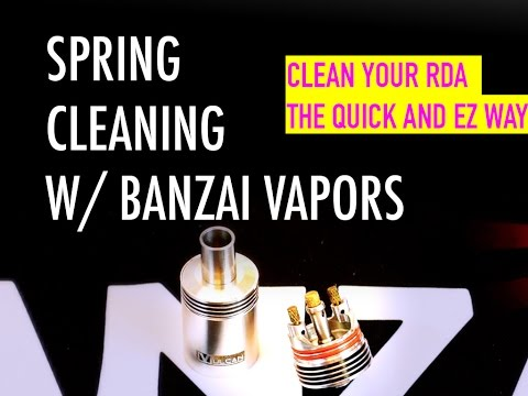 How To Clean Your RDA