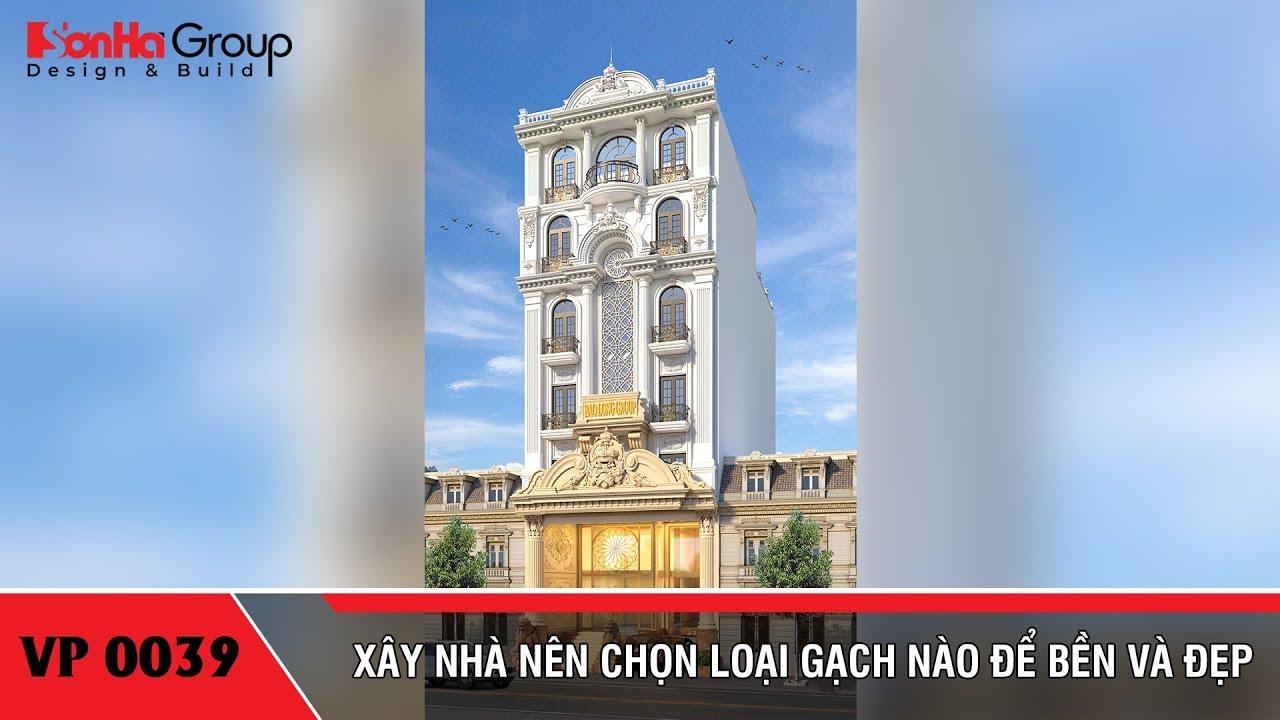 Mẫu tòa nhà văn phòng kiểu tân cổ điển diện tích 9,15m x 21,08m tại Sài Gòn