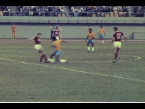 Montreal 1976 Football USSR - Brasil (Amateur Footage)