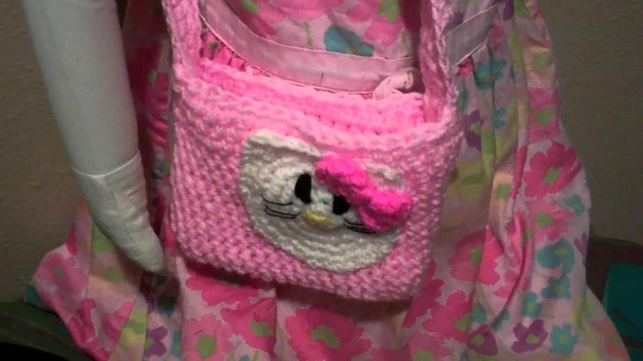Crochet Hello Kitty Purse Youtube