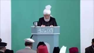 Le Calife de l'Islam en Irlande - sermon du 03-10-14