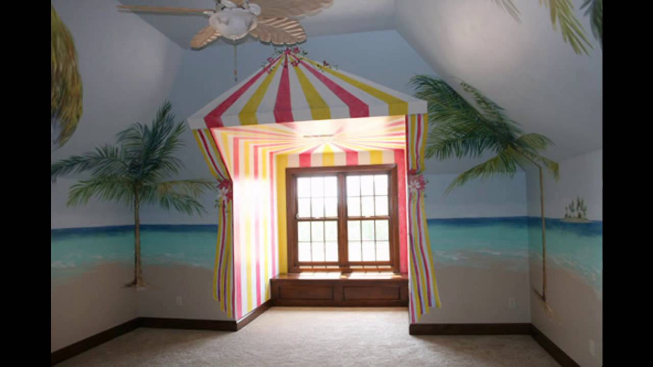 Hawaiian bedroom decorations ideas - YouTube