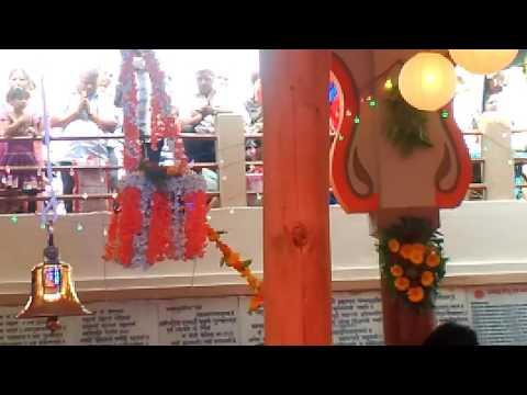 Sidhivinayak Ganapati Kolhapur. Ganesh Jayanti Palana 31.01.2017 at 12.17p.m.