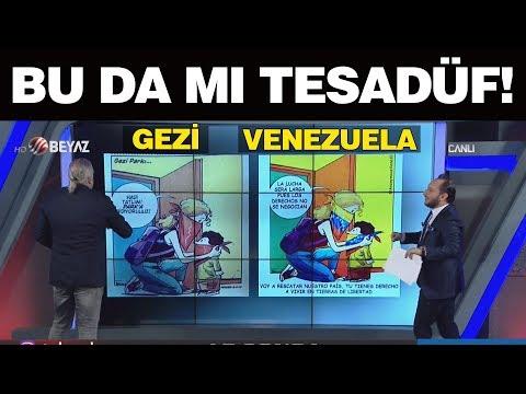 Bu da mı tesadüf! İşte Gezi Parkı ile Venezuela'daki benzerlik!
