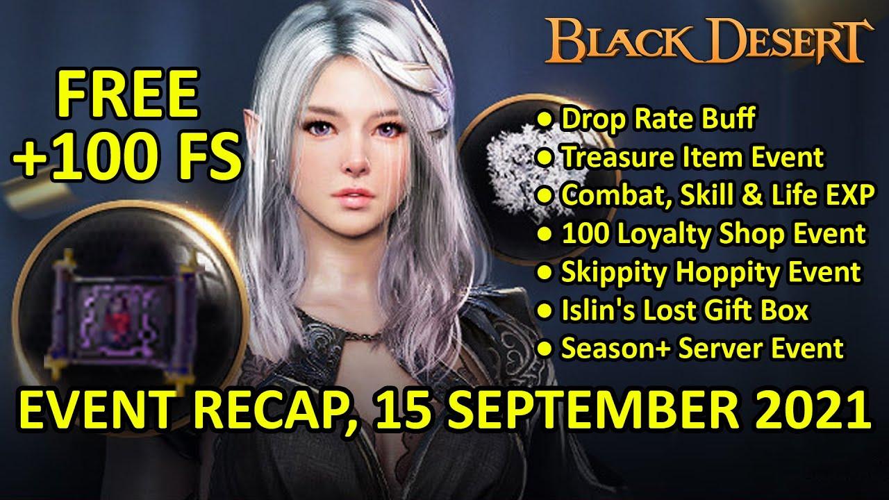Download FREE +100 FS, Treasure Item, Drop Rate, EXP, Skippity Hoppity, Season+ (Event Recap, 15 SEP 2021)