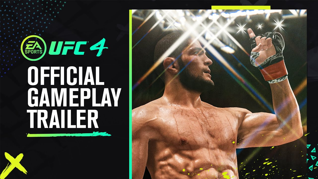 Ufc 4 Official Gameplay Trailer Youtube
