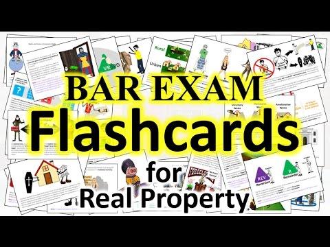 Bar Exam Flashcards - Real Property
