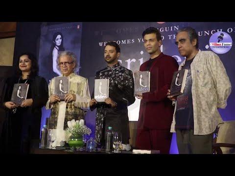 BOOK LAUNCH ON LATE SRIDEVI By KARAN JOHAR, SRIDEVI The EternalScreen Goddess written by Satyarth