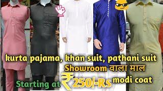 Branded Kurta-Pajama, pathani suit, khan suit, modi coat wholesale market, Tank road, Karol bagh