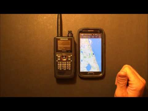 Kenwood TH-D74 APRS DSTAR radio in depth look & audio test