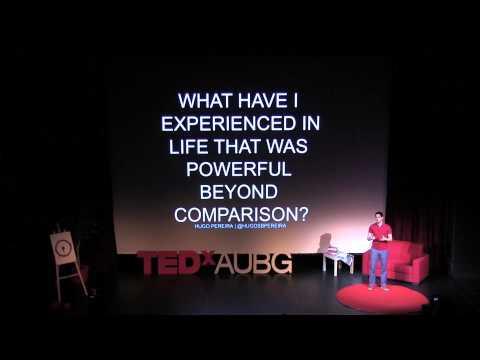 Questions that move us forward: Hugo Pereira at TEDxAUBG
