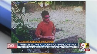 Amberley Village police looking for